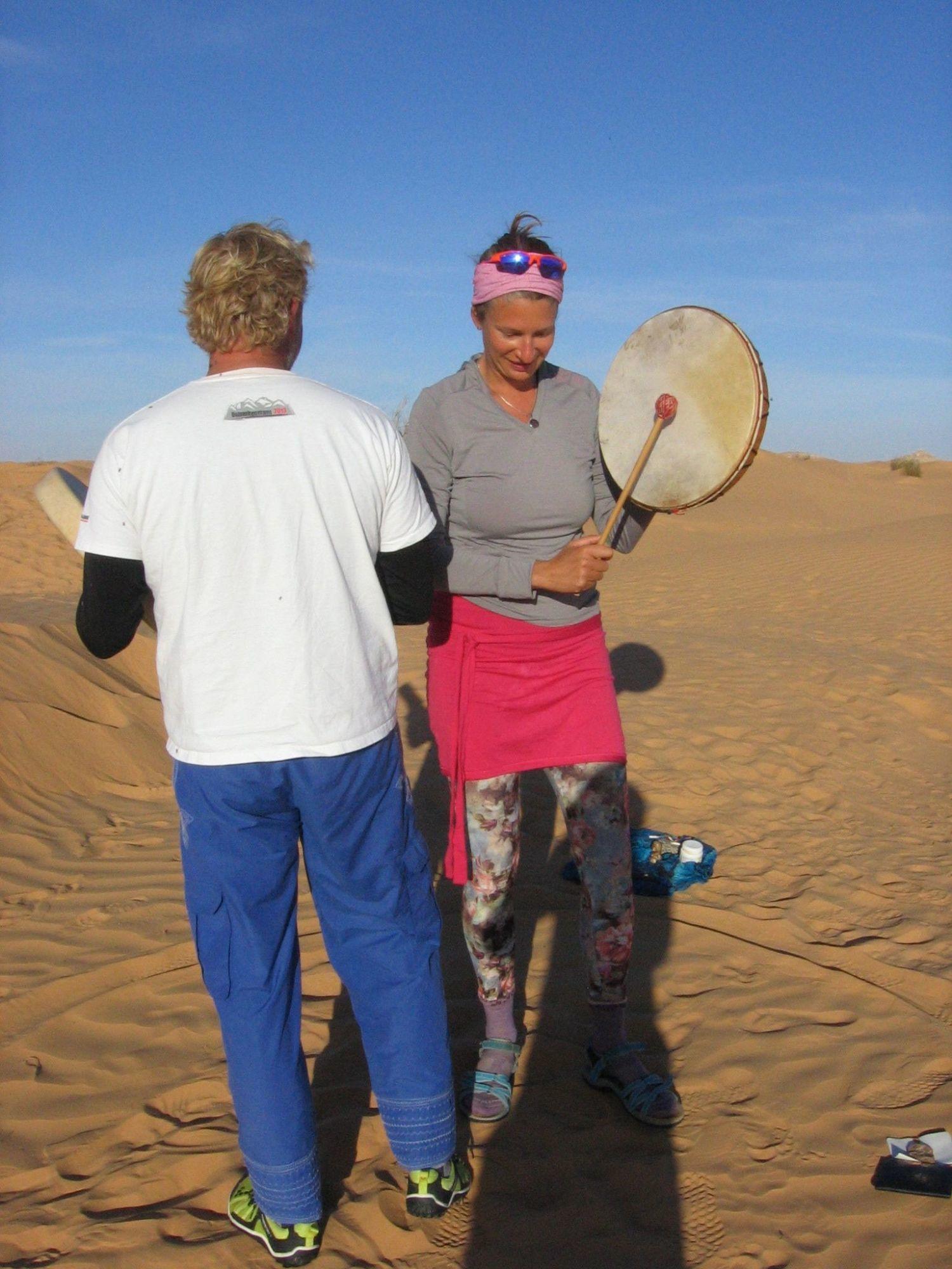 šamanské bubny - Pouť Saharou 2014