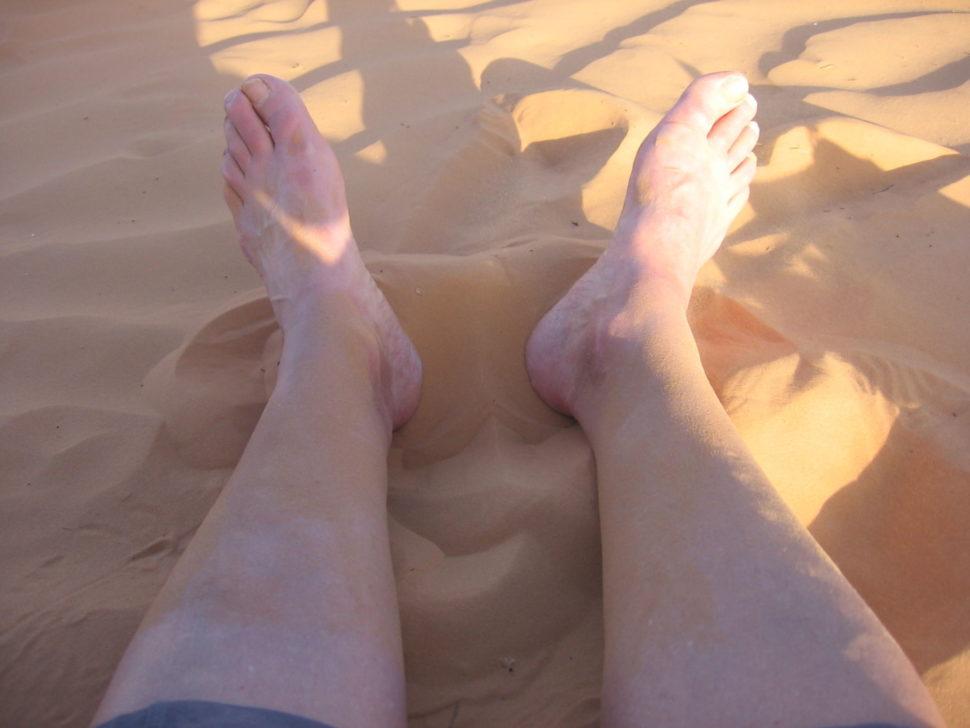 bosé nohy vpísku - vision quest naSahaře 2013
