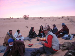 kruh poutníků - vision quest naSahaře 2012