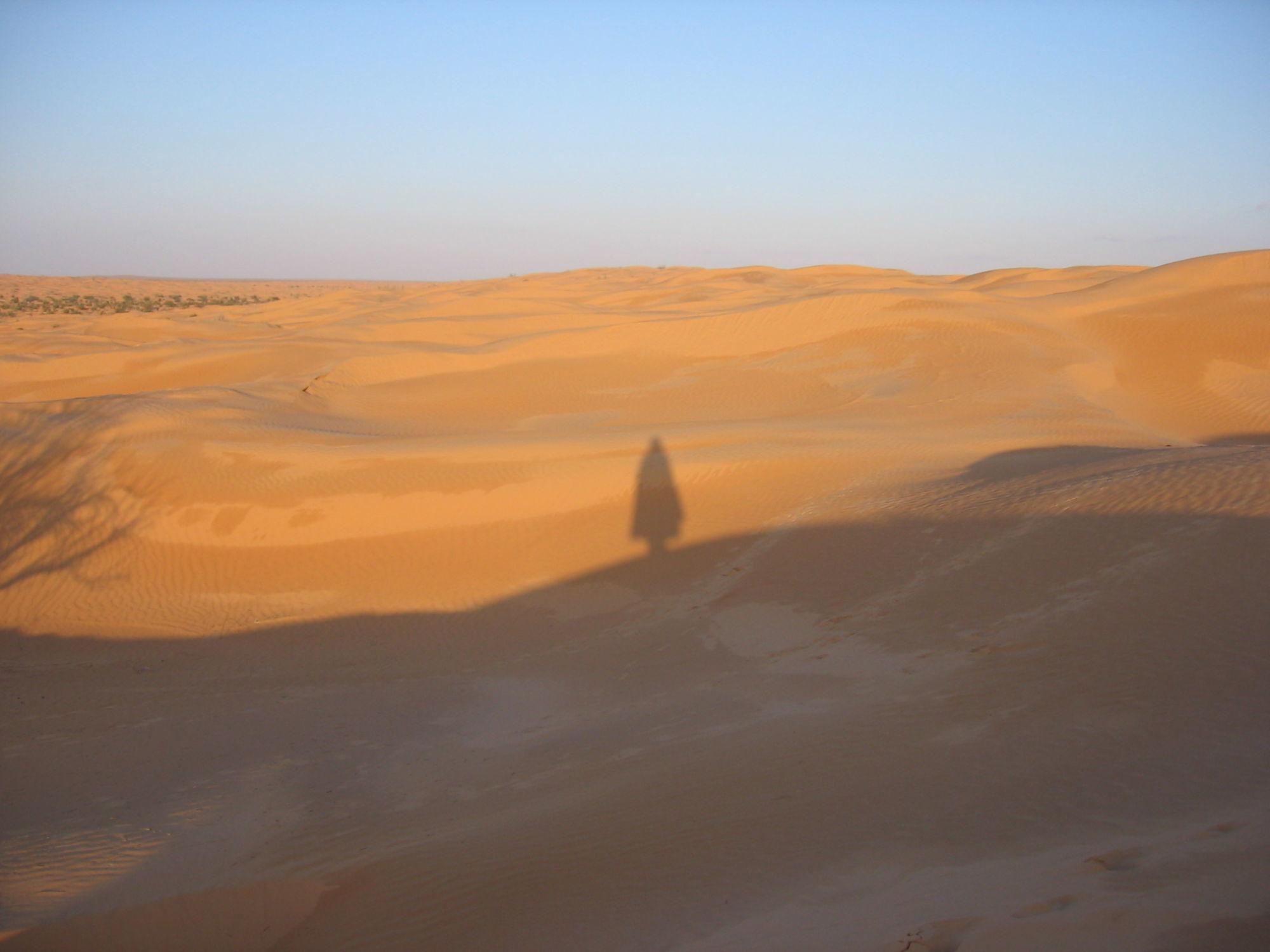 stín poutníka nasahaře - vision quest naSahaře 2012