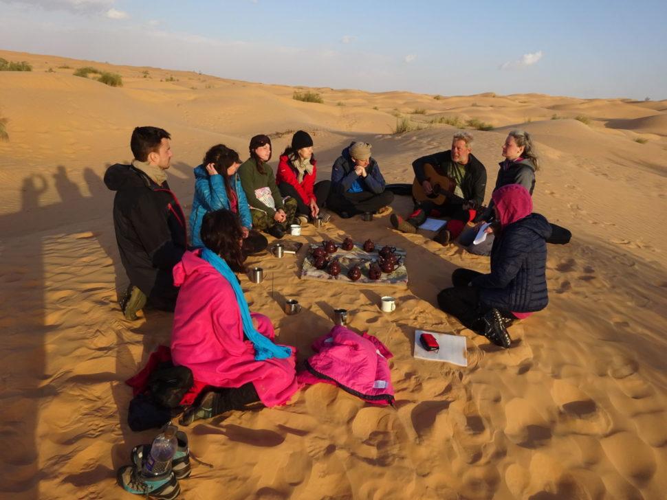 setkání poutníků naSahaře