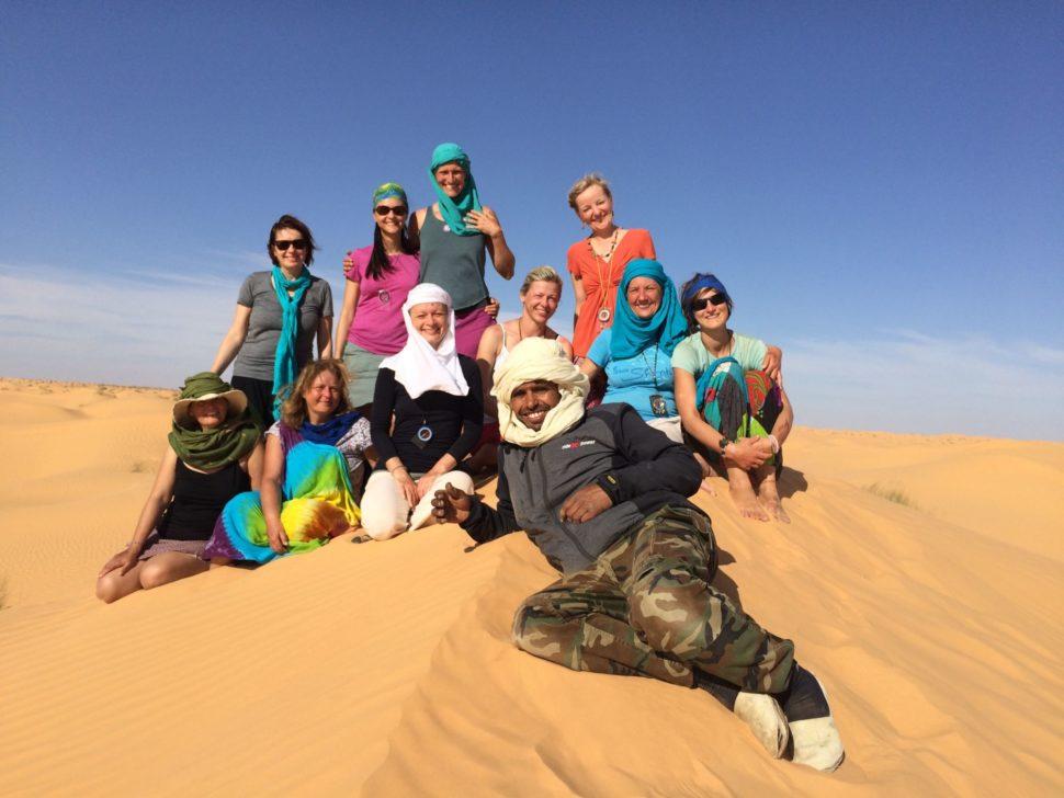 Putování Saharou pro ženy vúnoru 2020